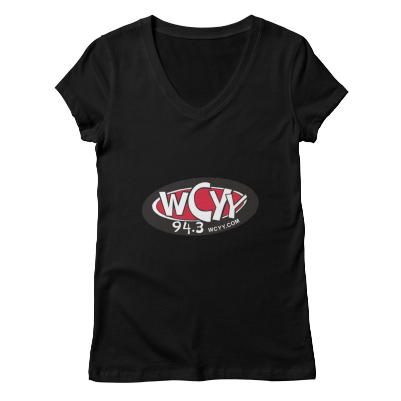 WCYY Women's V-Neck by townsquareportland's Artist Shop