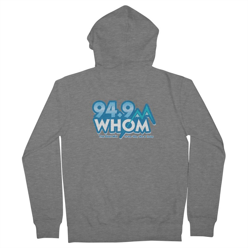 WHOM Women's Zip-Up Hoody by townsquareportland's Artist Shop