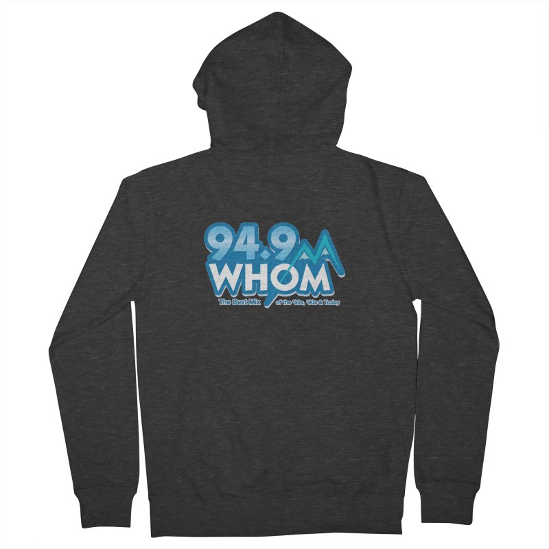 WHOM Men's Zip-Up Hoody by townsquareportland's Artist Shop