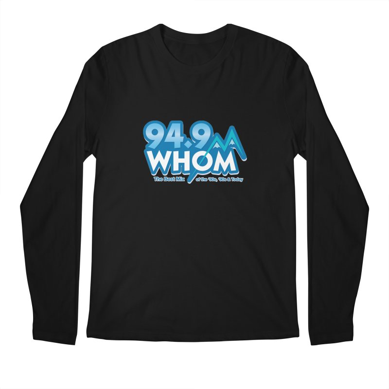 WHOM Men's Longsleeve T-Shirt by townsquareportland's Artist Shop
