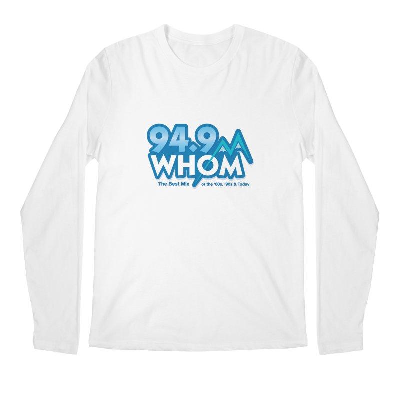 WHOM Men's Longsleeve T-Shirt by townsquareportland's Artist Shop