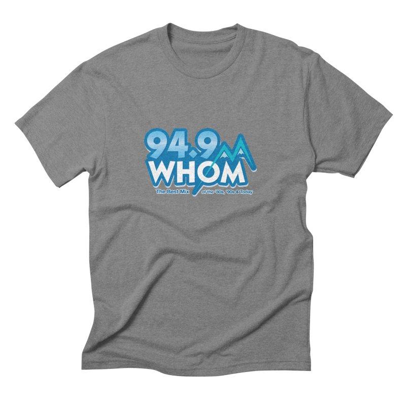 WHOM Men's T-Shirt by townsquareportland's Artist Shop