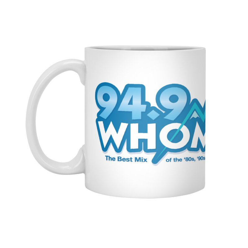 WHOM Accessories Mug by townsquareportland's Artist Shop