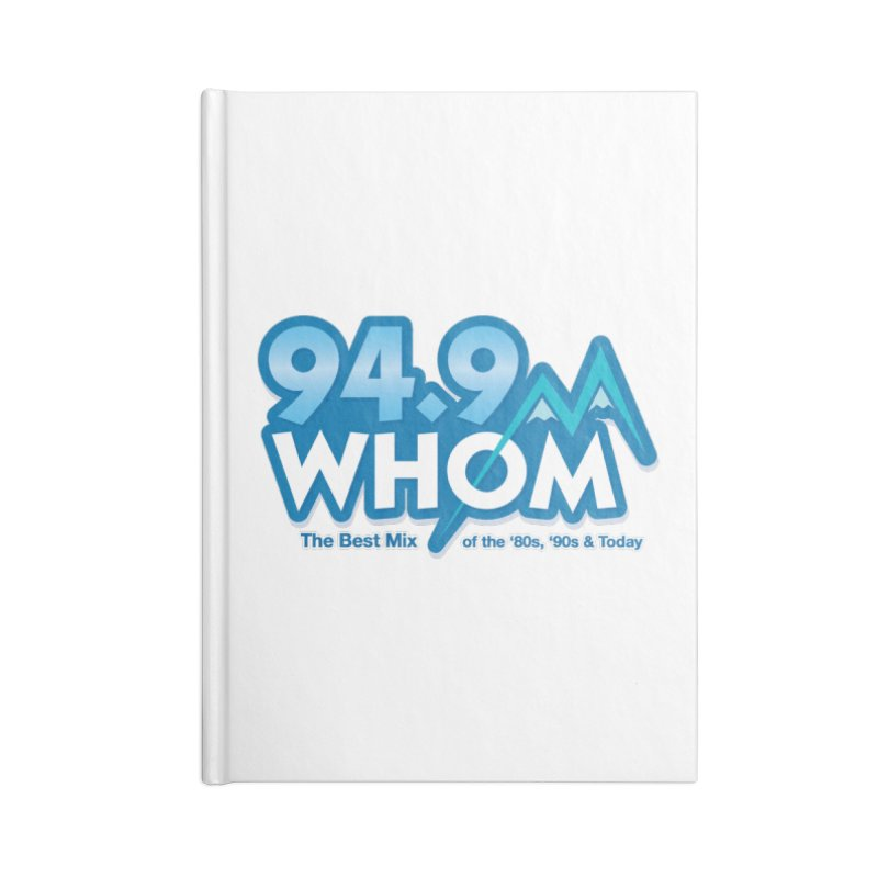WHOM Accessories Notebook by townsquareportland's Artist Shop