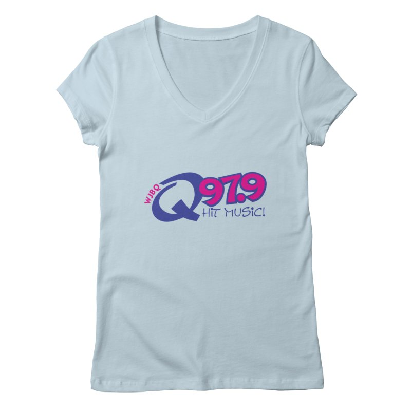 WJBQ Women's V-Neck by townsquareportland's Artist Shop