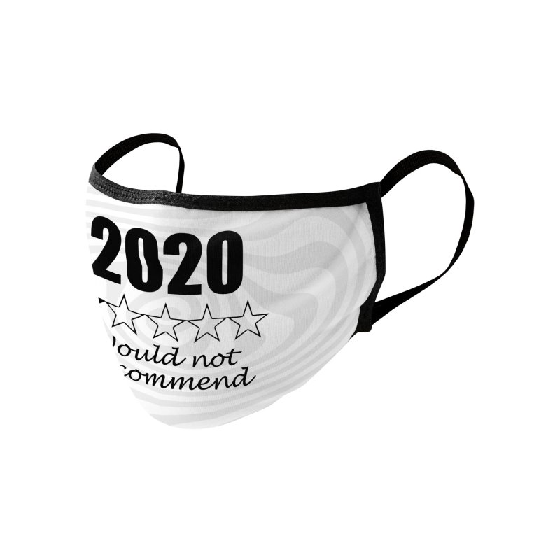 2020 Would Not Recommend - Swirl Accessories Face Mask by Townsquare Rochester's Artist Shop
