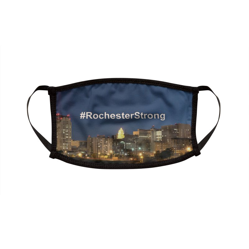 Rochester Strong Mask Accessories Face Mask by Townsquare Rochester's Artist Shop