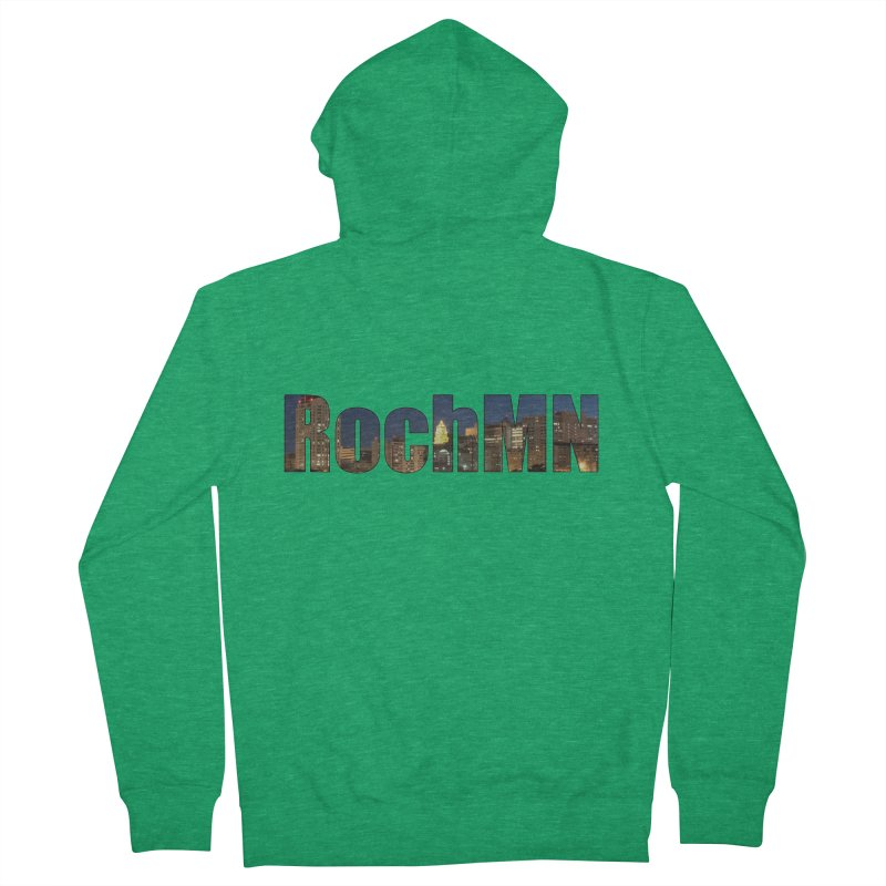 RochMN Men's Zip-Up Hoody by Townsquare Rochester's Artist Shop
