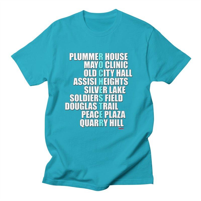 Rochester Places Men's T-Shirt by Townsquare Rochester's Artist Shop