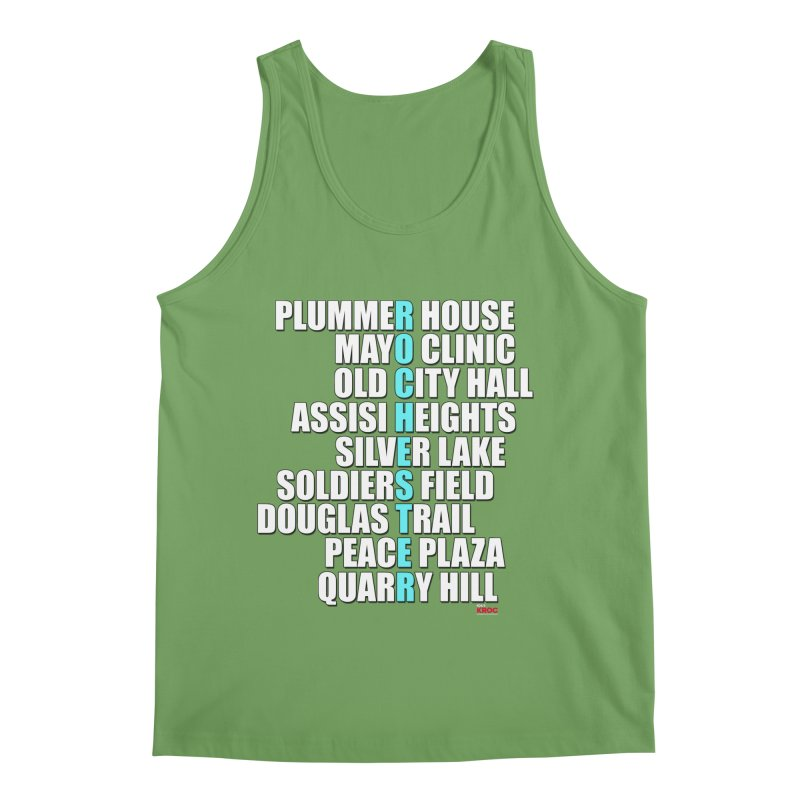 Rochester Places Men's Tank by Townsquare Rochester's Artist Shop