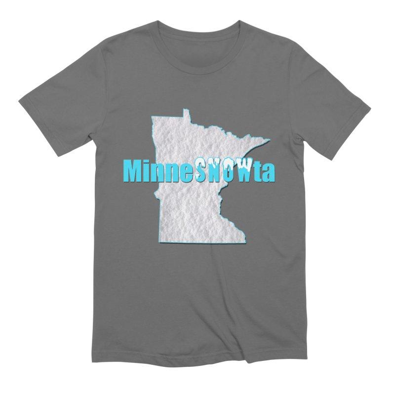 MinneSNOWta Men's T-Shirt by Townsquare Rochester's Artist Shop