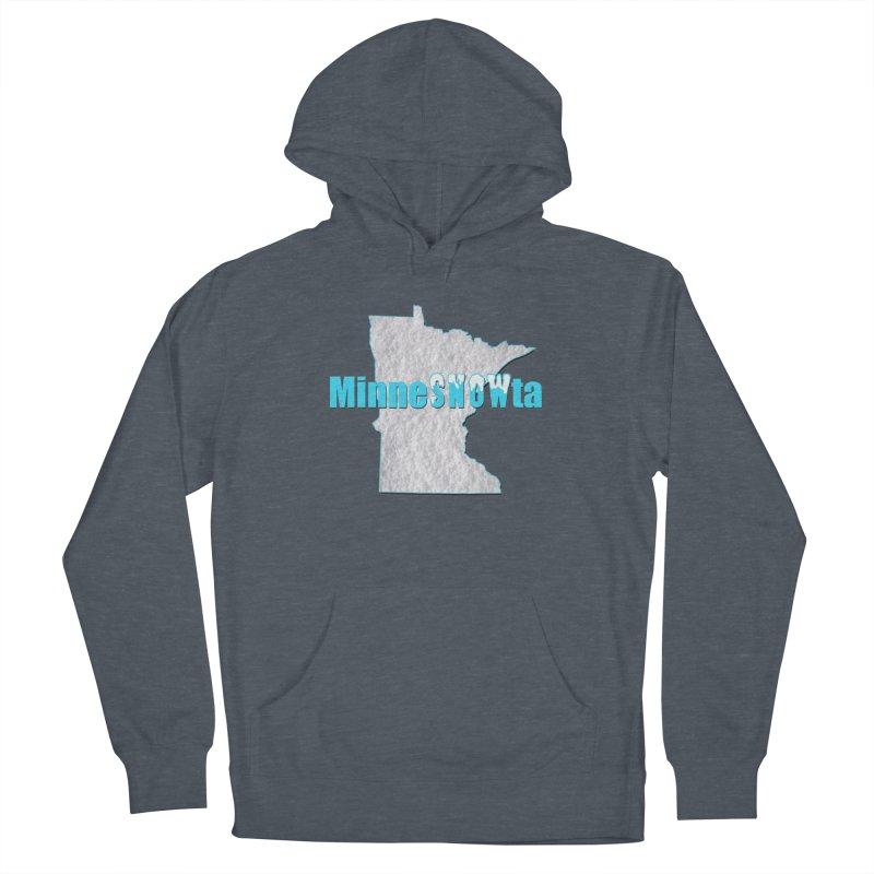 MinneSNOWta Men's Pullover Hoody by Townsquare Rochester's Artist Shop