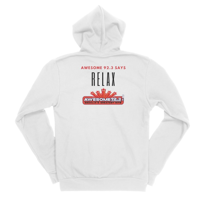 Awesome 92.3 Men's Zip-Up Hoody by townsquaresedalia's Artist Shop