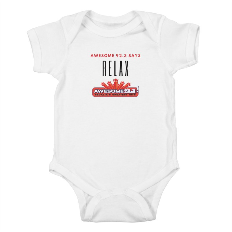 Awesome 92.3 Kids Baby Bodysuit by townsquaresedalia's Artist Shop