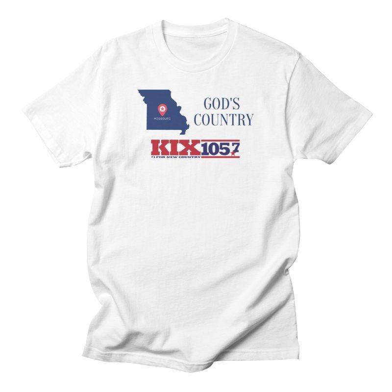 KIX - God's Country Men's T-Shirt by townsquaresedalia's Artist Shop