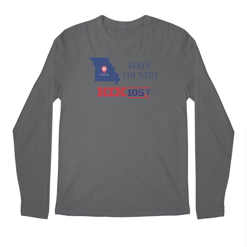 KIX - God's Country Men's Longsleeve T-Shirt by townsquaresedalia's Artist Shop