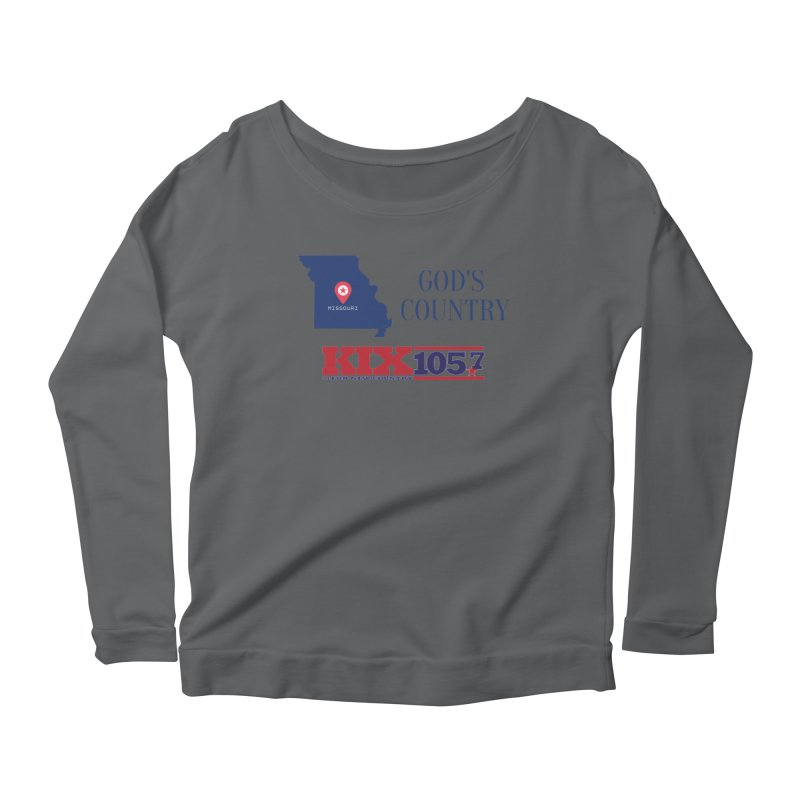 KIX - God's Country Women's Longsleeve T-Shirt by townsquaresedalia's Artist Shop