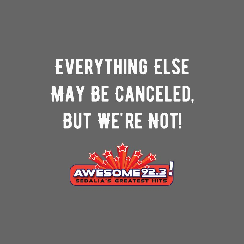 Awesome Not Canceled Shirt Men's T-Shirt by townsquaresedalia's Artist Shop