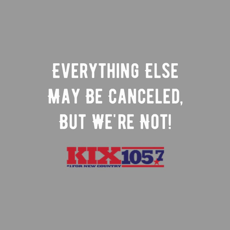 Kix Not Canceled Shirt Women's Zip-Up Hoody by townsquaresedalia's Artist Shop