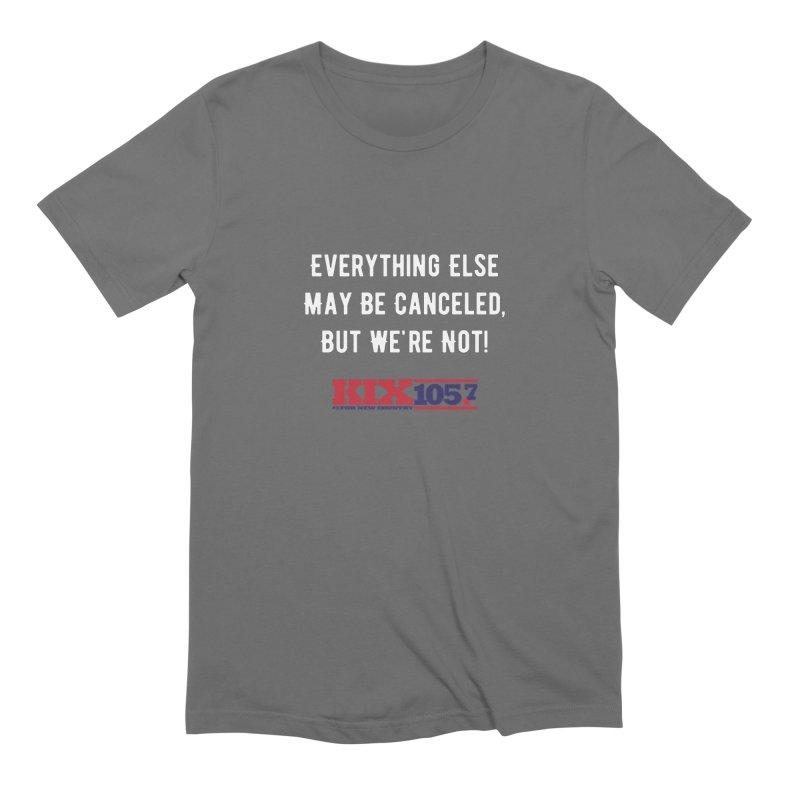 Kix Not Canceled Shirt Men's T-Shirt by townsquaresedalia's Artist Shop