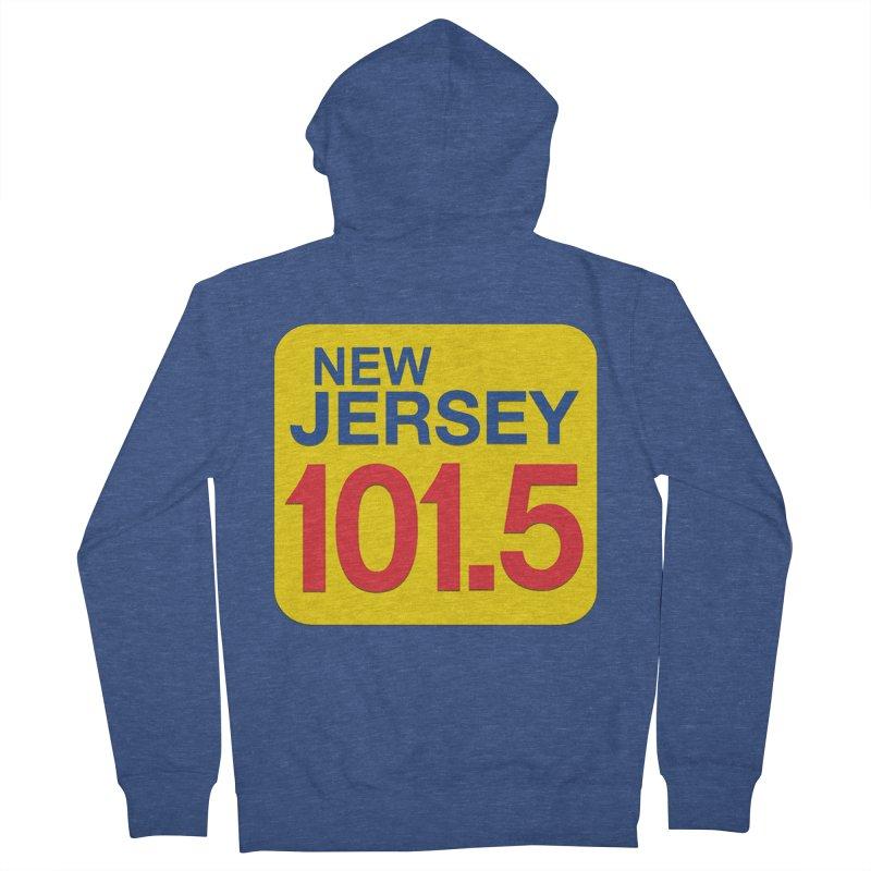 NJ101.5 App T-Shirt Men's Zip-Up Hoody by NJ101.5's Artist Shop