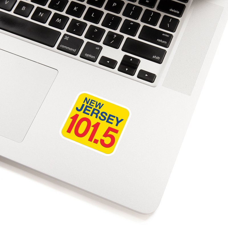 NJ101.5 App T-Shirt Accessories Sticker by NJ101.5's Artist Shop