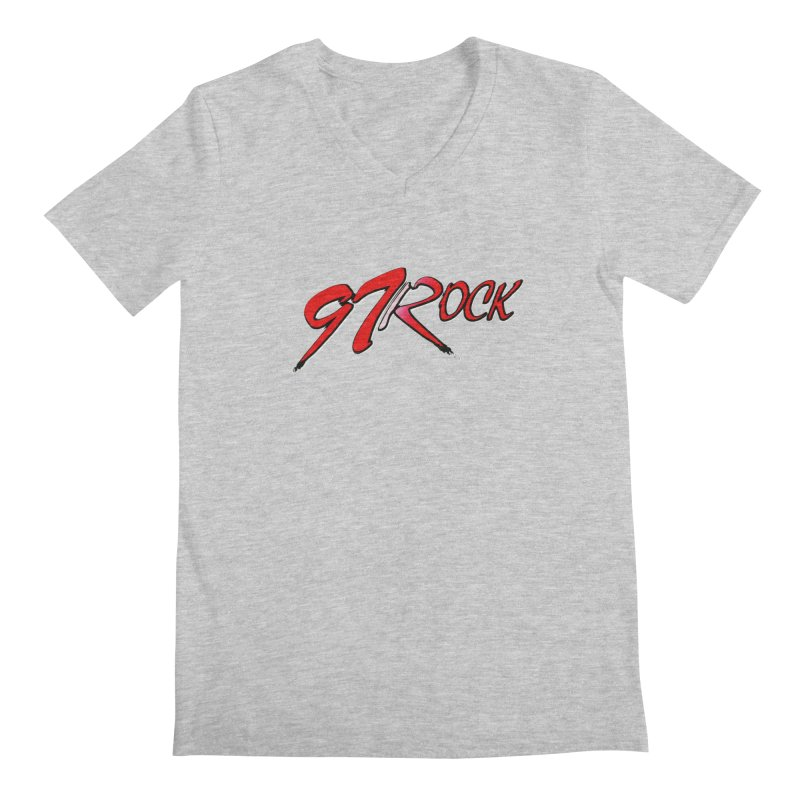 97 Rock | The Classic Men's V-Neck by Townsquare Tri-Cities' Shop