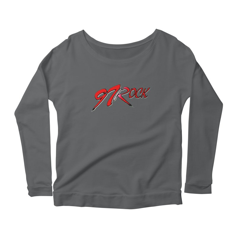 97 Rock | The Classic Women's Longsleeve T-Shirt by Townsquare Tri-Cities' Shop