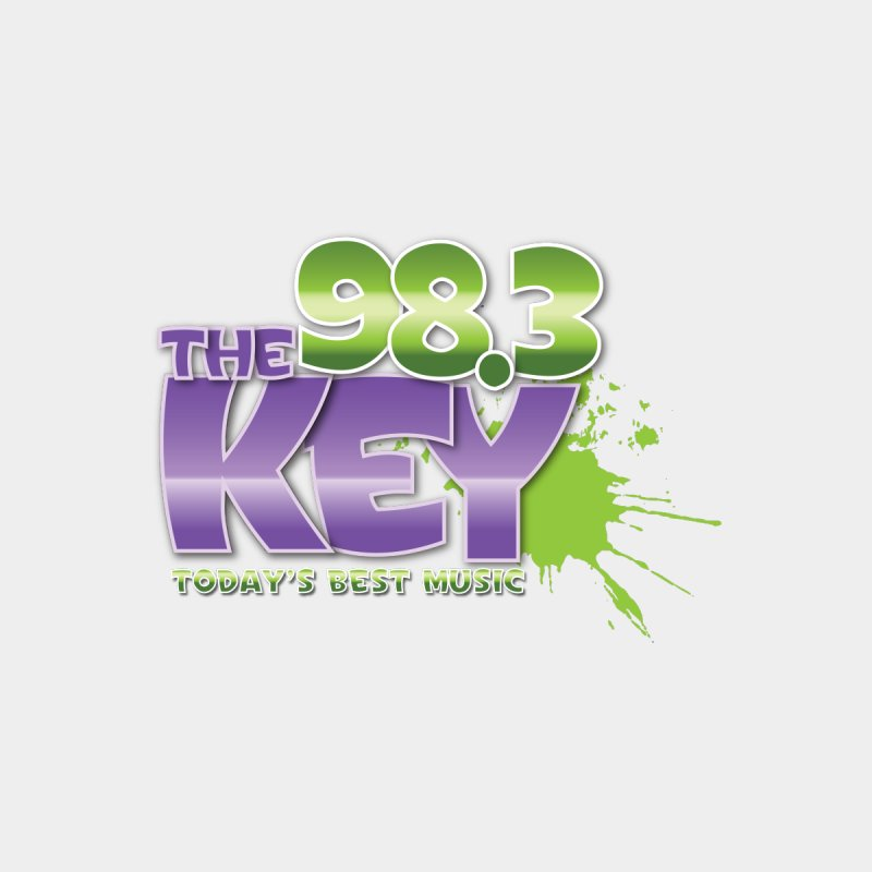 98.3 the Key Accessories Sticker by Townsquare Tri-Cities' Shop