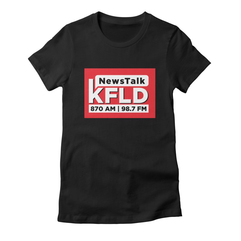 KFLD   Red Squared Women's T-Shirt by Townsquare Tri-Cities' Shop