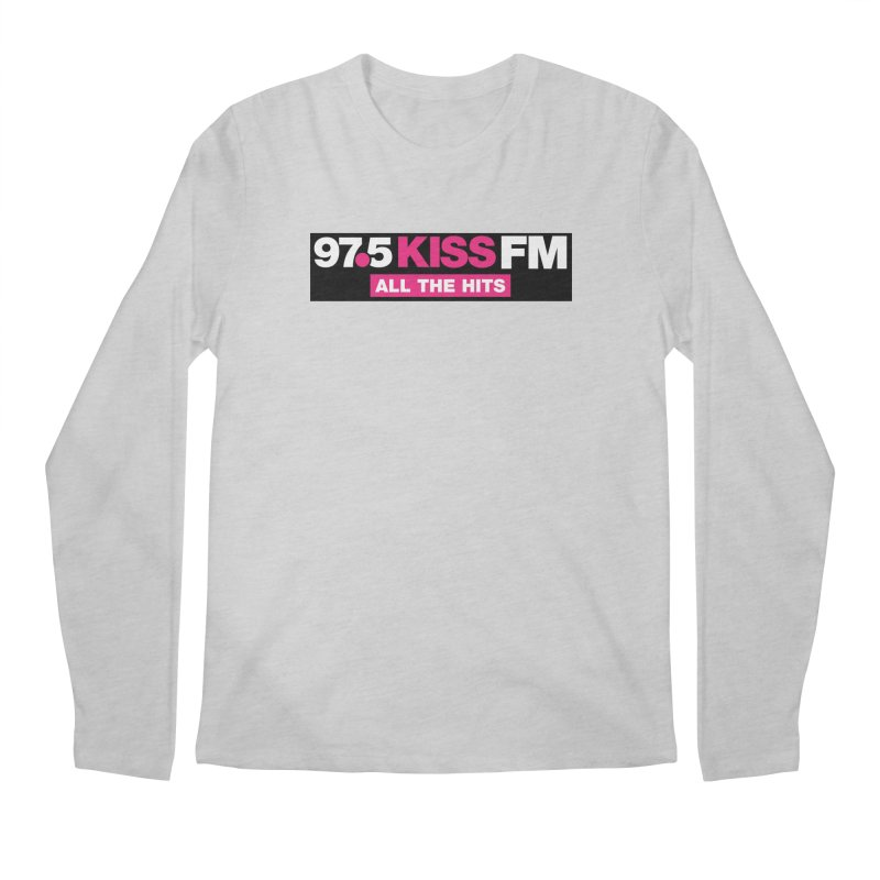 KISSFM | Essential Men's Longsleeve T-Shirt by Townsquare Tri-Cities' Shop