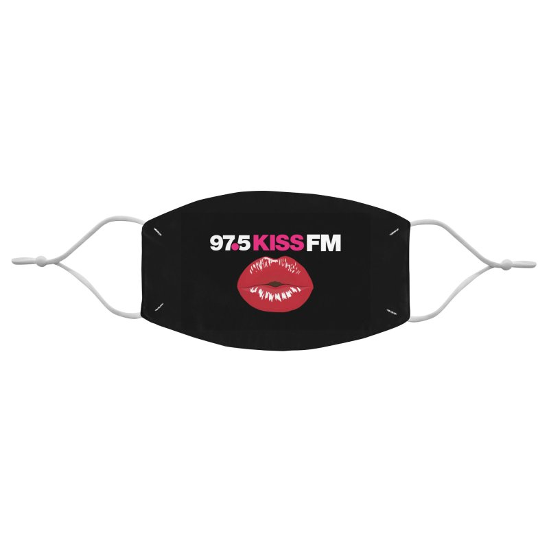97.5 Kiss FM Mask Accessories Face Mask by Townsquare Tri-Cities' Shop