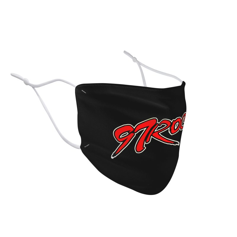 97 Rock Face Mask Accessories Face Mask by Townsquare Tri-Cities' Shop