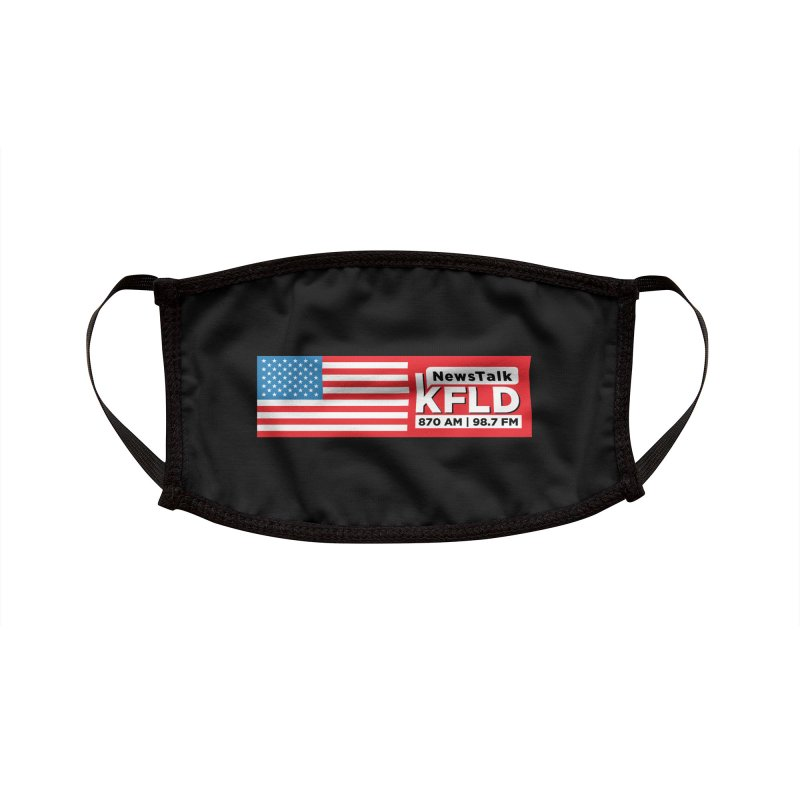 KFLD Made in America Face Mask Accessories Face Mask by Townsquare Tri-Cities' Shop