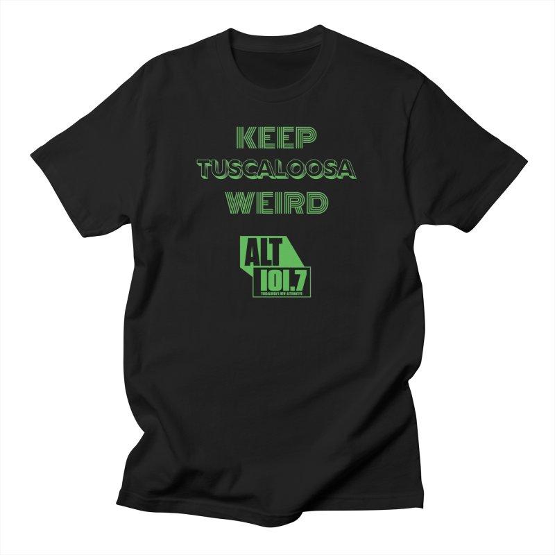 Keep Tuscaloosa Weird - WQRR Men's T-Shirt by Townsquare Tuscaloosa's Shop