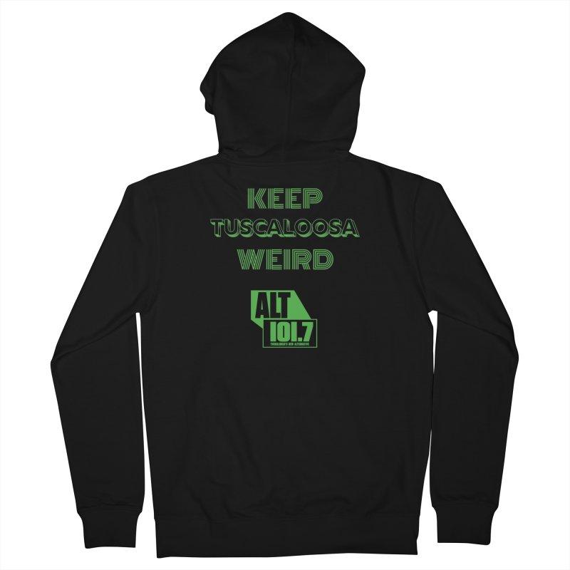 Keep Tuscaloosa Weird - WQRR Women's Zip-Up Hoody by Townsquare Tuscaloosa's Shop