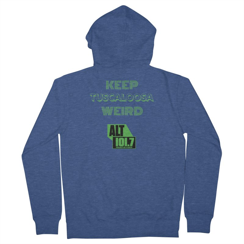 Keep Tuscaloosa Weird - WQRR Men's Zip-Up Hoody by Townsquare Tuscaloosa's Shop
