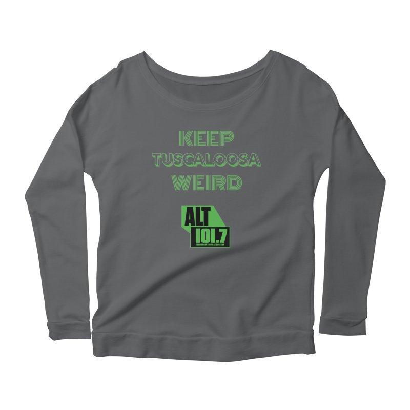 Keep Tuscaloosa Weird - WQRR Women's Longsleeve T-Shirt by Townsquare Tuscaloosa's Shop