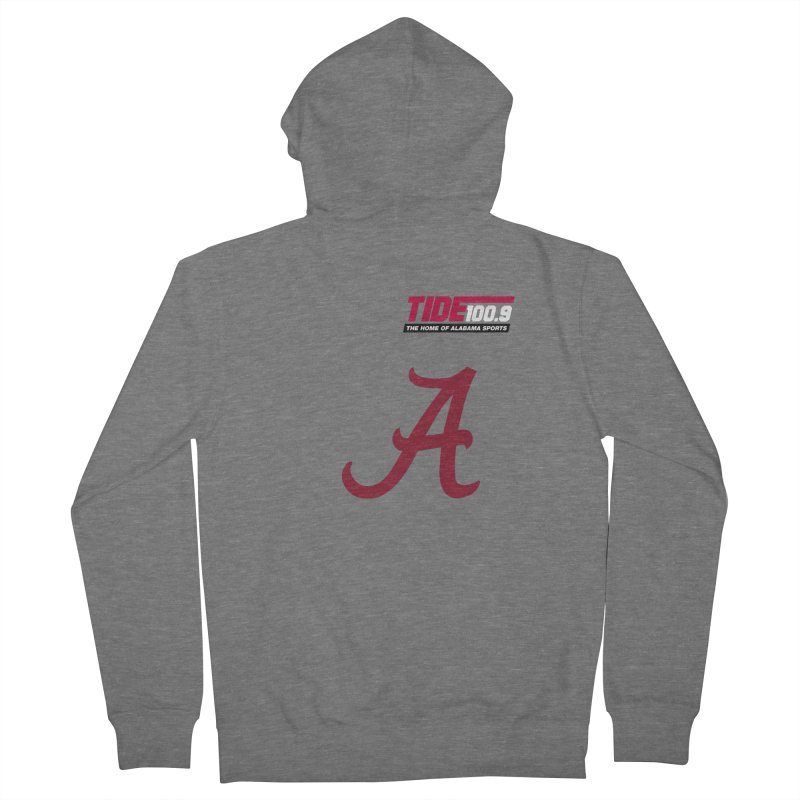 The Tide 'Script A' Shirt Women's Zip-Up Hoody by Townsquare Tuscaloosa's Shop