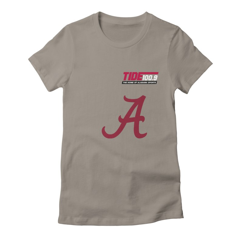 The Tide 'Script A' Shirt Women's T-Shirt by Townsquare Tuscaloosa's Shop