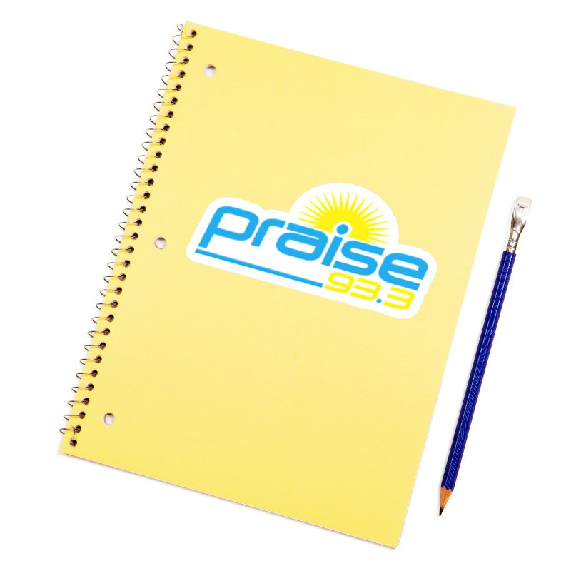 Praise 93.3 Accessories Sticker by Townsquare Tuscaloosa's Shop