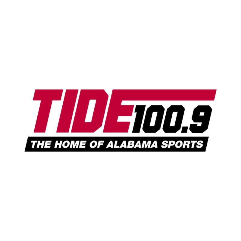 Tide 100.9 Accessories Sticker by Townsquare Tuscaloosa's Shop