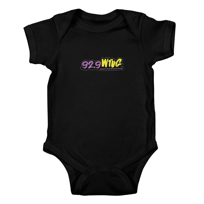 92.9 WTUG Kids Baby Bodysuit by Townsquare Tuscaloosa's Shop