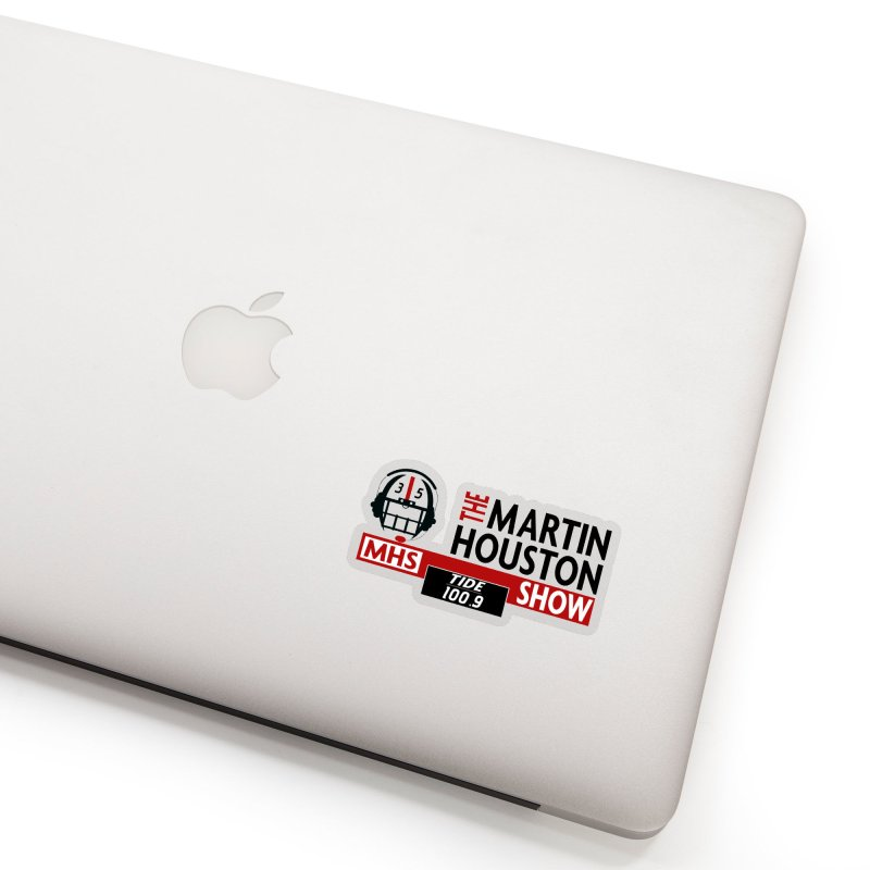 The Martin Houston Show Accessories Sticker by Townsquare Tuscaloosa's Shop