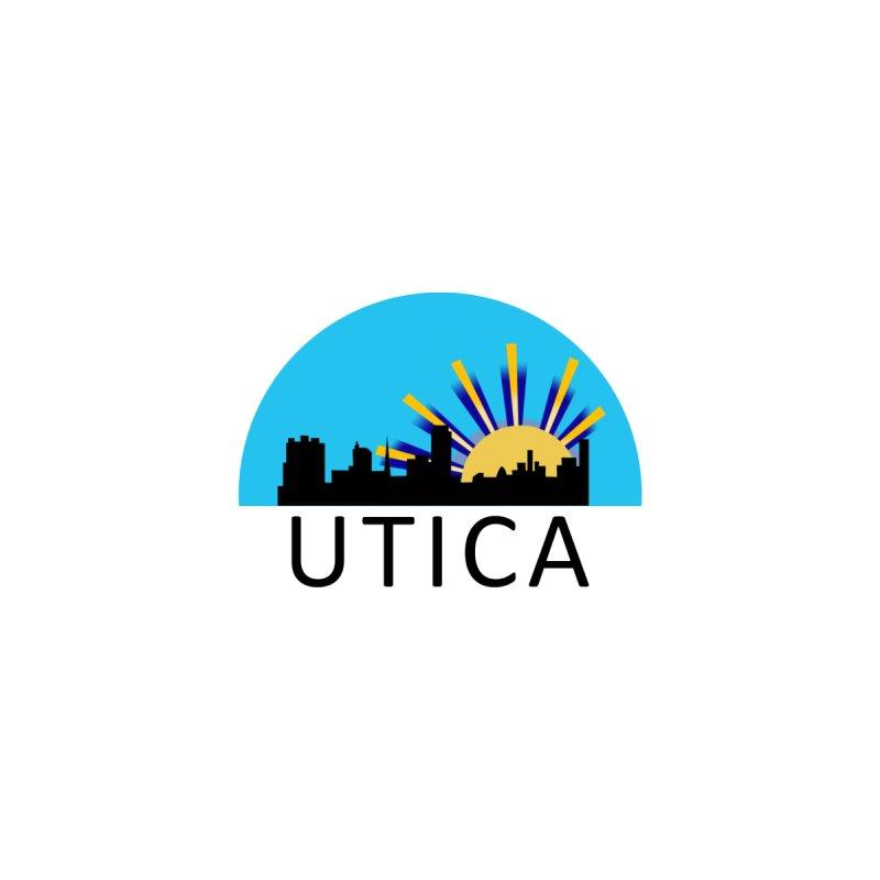 Utica Sign Men's T-Shirt by Townsquare Utica's Artist Shop