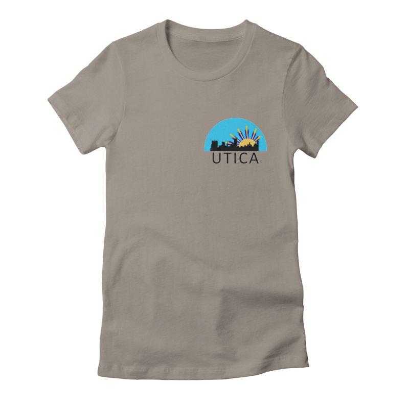 Utica Sign Women's T-Shirt by Townsquare Utica's Artist Shop