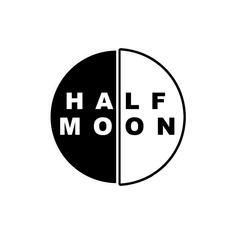 Half Moon Men's T-Shirt by Townsquare Utica's Artist Shop