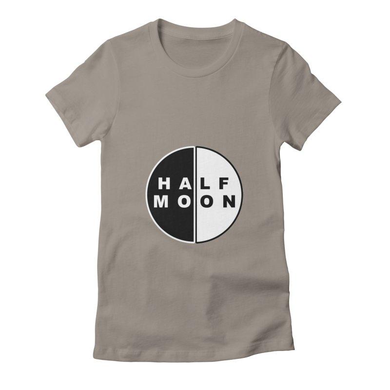 Half Moon Women's T-Shirt by Townsquare Utica's Artist Shop