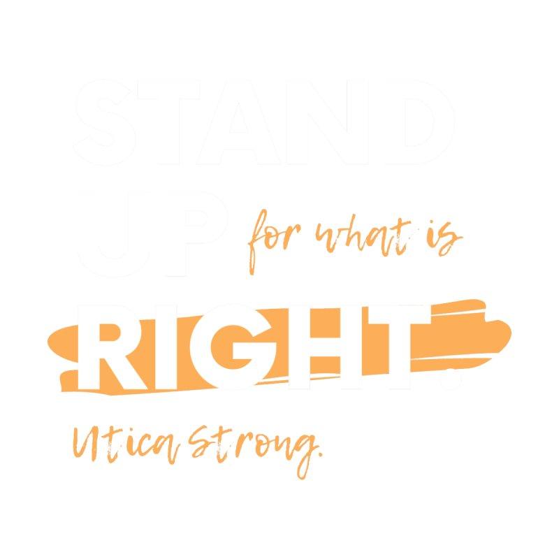 Utica Strong Women's T-Shirt by Townsquare Utica's Artist Shop