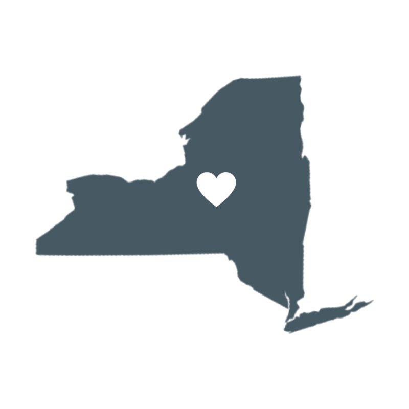 New York State Men's Longsleeve T-Shirt by Townsquare Utica's Artist Shop